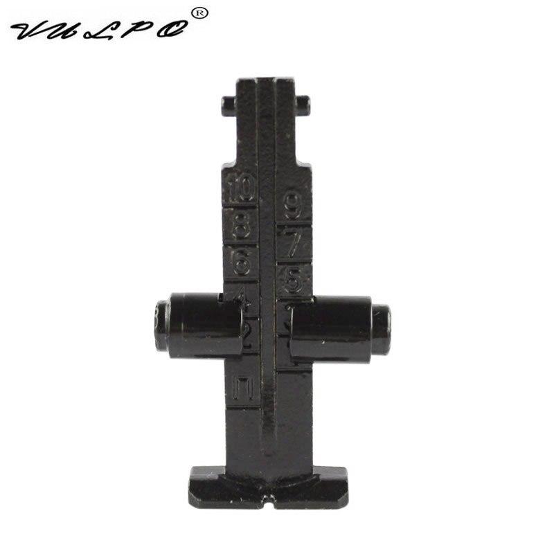 VULPO ajustable acero 1000m vista trasera para AK47 AK74 AK Series airsoft AEG 1 botella Y 20000 Uds bala de agua para pistola de juguete de cuentas puede contener 200 Uds bala usada para todos Barret M4A1 P90 AK47