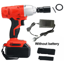 Cordless Impact Wrenches LED Light Waterproof Drilling Power tool Charger