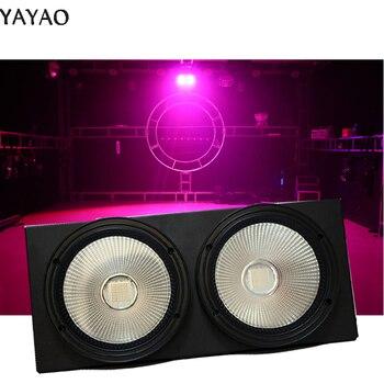 2 Eyes Cob Led Audience 2 * 100w Rgbw Blinder Stage Lighting Effect Professional & DJ RGB  240V