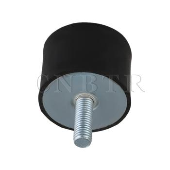 CNBTR-soporte aislante de vibración de goma, bloque silencioso, amortiguador M8, 40x30mm