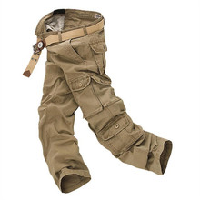 New 2020 Men Cargo Pants Multi Pockets Military Tactical