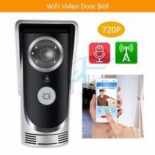 5 sztuk/partia darmowa wysyłka 720P wykrywanie ruchu HD IR Night Vision pierścień bezpieczeństwa dzwonek do drzwi domu WiFi wideo dzwonek kamery VF-DB01
