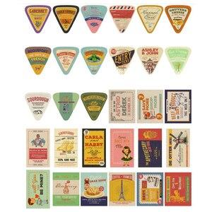 Image 4 - 5packs/lot Mode Design Werbung Boxed Nachricht Postkarten Büro Schule Liefert Mini Papier Postkarte Großhandel