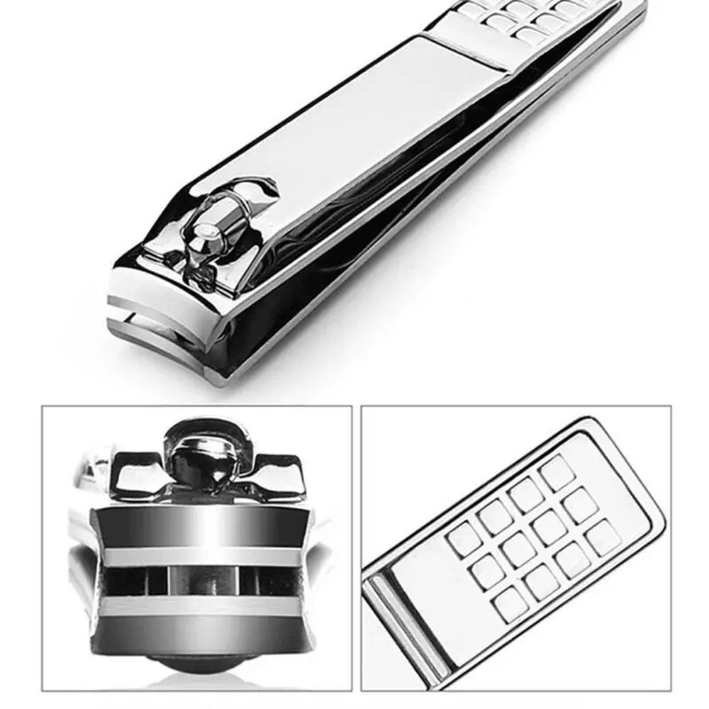 Nail Clipper Stainless Steel Manicure Tools Nail Cutter Finger Toe Nail Knife Trimmers Clippers For Women Men Kid Cuticle Nipper