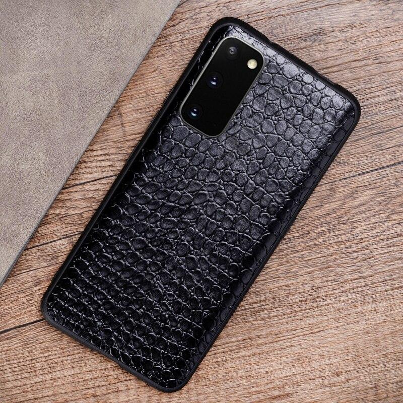 Cassa di cuoio Del Telefono Per Samsung Galaxy S20 Ultra S0e S7 S8 S9 s10 Più Nota 10 Plus 8 9 Per a30s A50s A51 A70 A71 A7 A8 2018 Caso