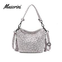 Genuine Leather Luxury Handbags Women Bags Designer Crossbody Bags For Women Leopard Shoulder Messenger Bags Tote New цена и фото