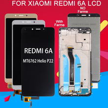 цены на Dinamico Display For Xiaomi Redmi 6 LCD Screen Touch Digitizer Assembly For Redmi 6A Display Panel Glass With Frame Free Ship  в интернет-магазинах