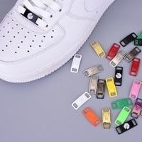 2 pièces/paire AF1 lacets boucle lacet boucle métal lacets accessoires métal dentelle serrure bricolage Sneaker Kits métal dentelle boucle