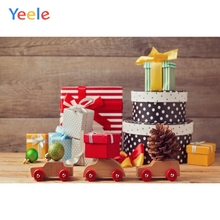 Yeele Christmas Photocall Chalet Gifts Wood Car Photography Backdrops Personalized Photographic Backgrounds For Photo Studio