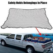1.8M * 1.5M kamyonet bagaj kargo bagaj ağır hizmet Mesh Net Web Ford GMC Dodge naylon siyah