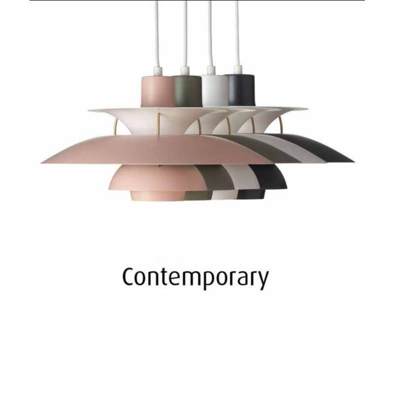Nordic Led Pendant Lights for Living Room Colorful Suspend Lamp Dining Room Pendant Lamp Modern Kitchen Lighting Fixtures
