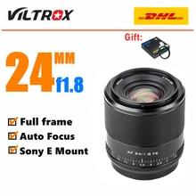 Viltrox 24mm F1.8 STM Lens Auto Focus Full Frame for Sony E Mount Camera A6600 A6500 A6400 A7RIV A7RIII A7III A7RII A7II A7S