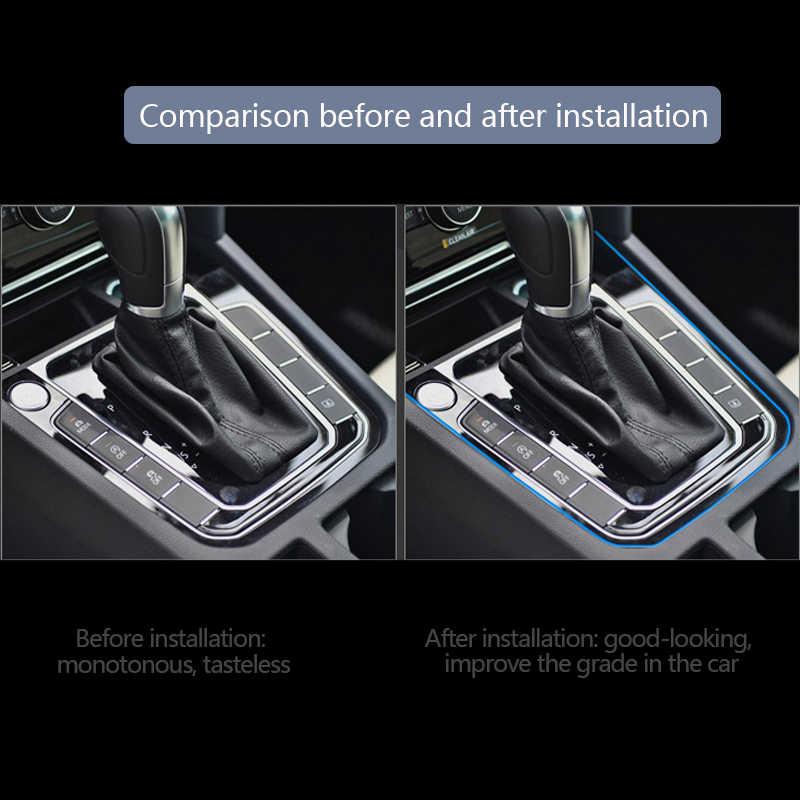 カースタイリングユニバーサル DIY 柔軟なインテリア成形トリムストリップカーアクセサリーデコレーションストリップダッシュボード 5 メートルエッジステッカー