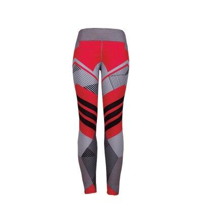 BEFORW 2020 Fashion Polyester Digital Printing Leggings Plus Size Women Sexy Workout Black Leggings Camouflage Camo Pants 7