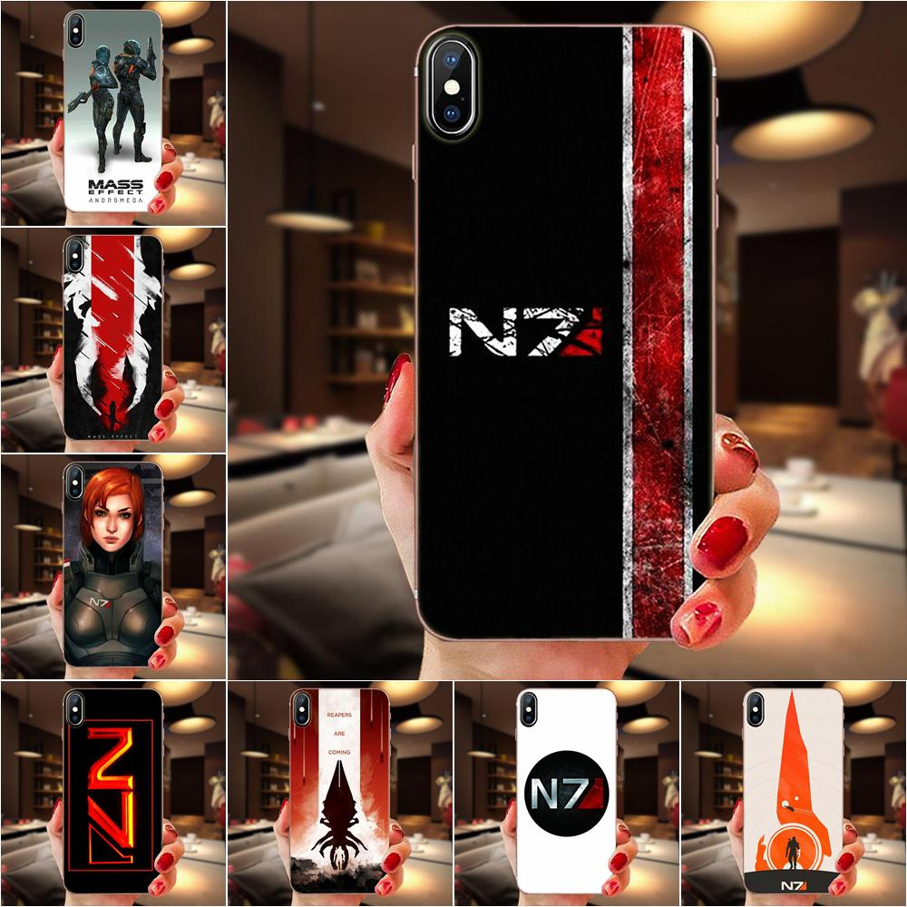 coque iphone 8 mass effect space