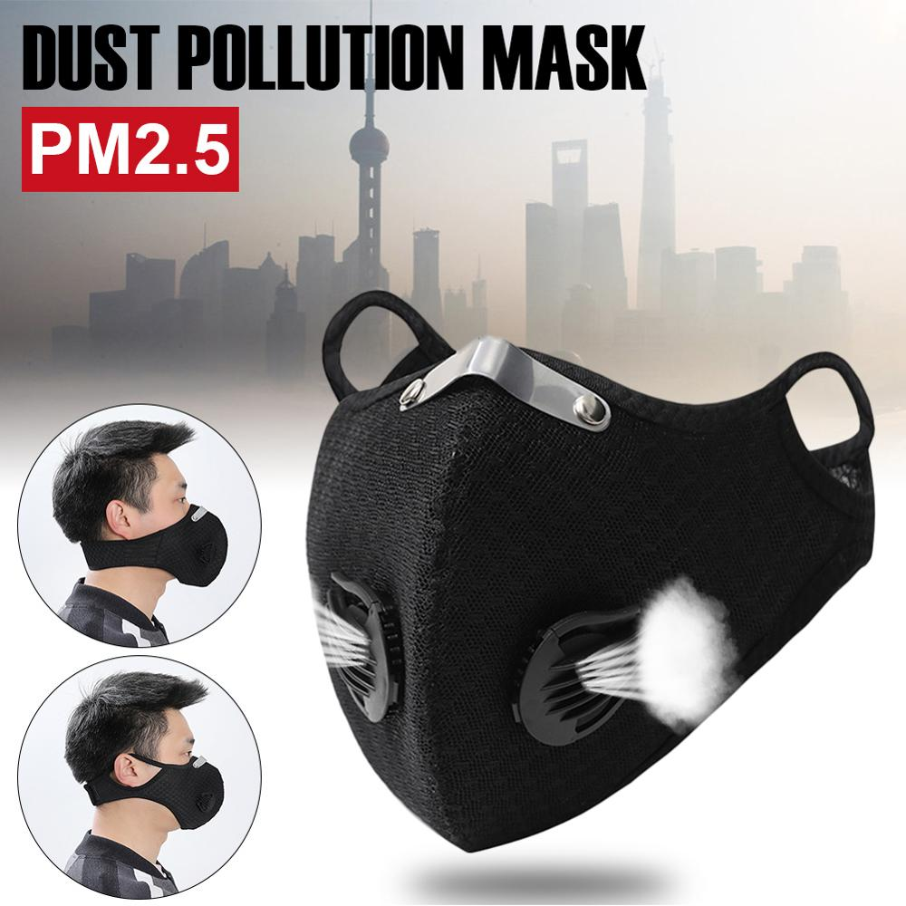Outdoor Wind Proof Mask Bike Soft  Running Breathable Face Cover Guard Sport Carbon Training Protection Cycling Ski Sports