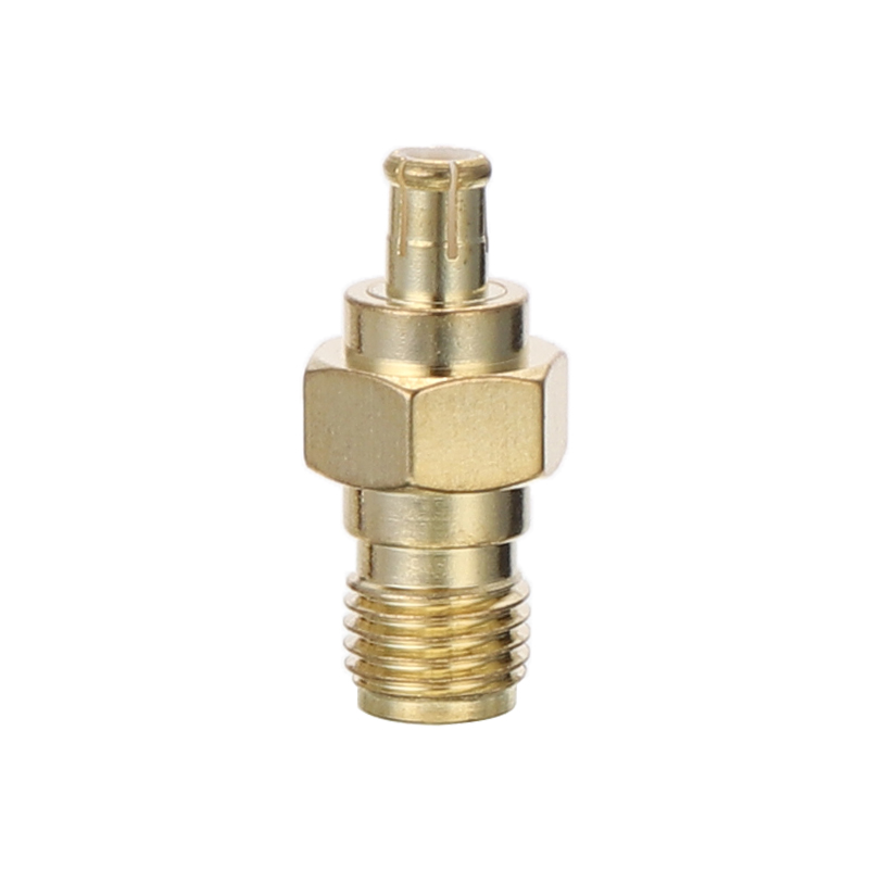 1pc SMA Female Plug To MCX Male Plug RF Coaxial Straight Adapter Connector for Electrical Equipment Supplies