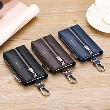 Car-Key-Package WILLIAMPOLO New-Cowhide Gift for Men Waist-Key