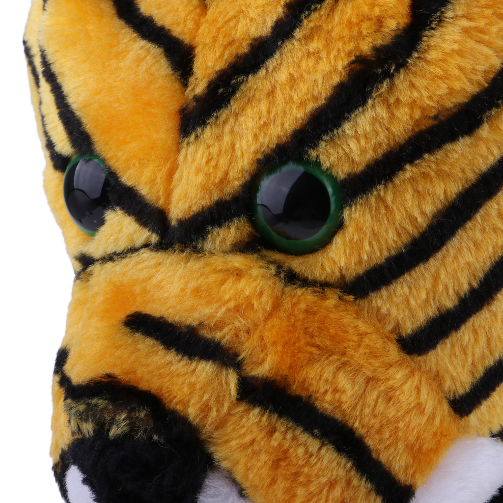 Tiger Head Animal Golf Club Headcover - Wood Driver Head Cover