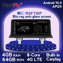 Blu-ray anti-glare ekran 10 25 #8222 IPS 8Core Android 10 dla BMW serii 1 120i E81 E82 E87 E88 samochodu Radio odtwarzacz multimedialny tanie tanio navifly CN (pochodzenie) podwójne złącze DIN 4*45w DVD-R RW DVD-RAM VIDEO CD JPEG plastic screen Hardware 1920*720 bluetooth