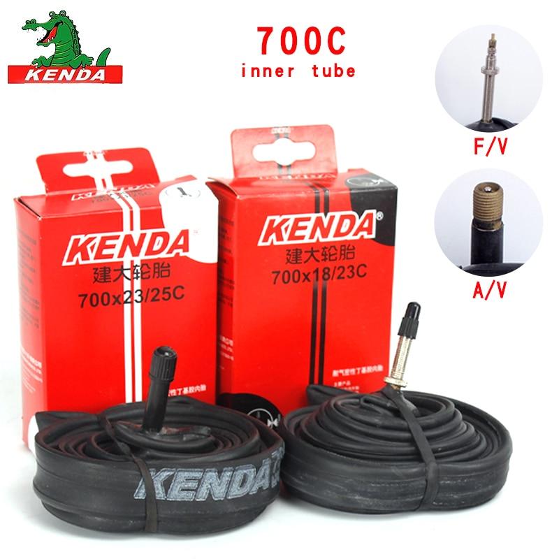 KENDA 700*23//25//28//32C Road Bike Tire Inner Tube Presta F//V 48mm Clincher Tyre