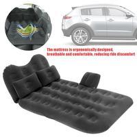 نفخ وسادة سيارة المخده سرير هوائي سيارة سرير هوائي مع السفر فراش يتدفقون مزدوجة حماية-في سرير سيارة للسفر من السيارات والدراجات النارية على