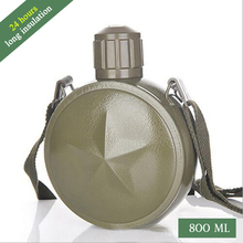 800ML Stainless steel Vacuum insulation kettle Portable outdoor travel water