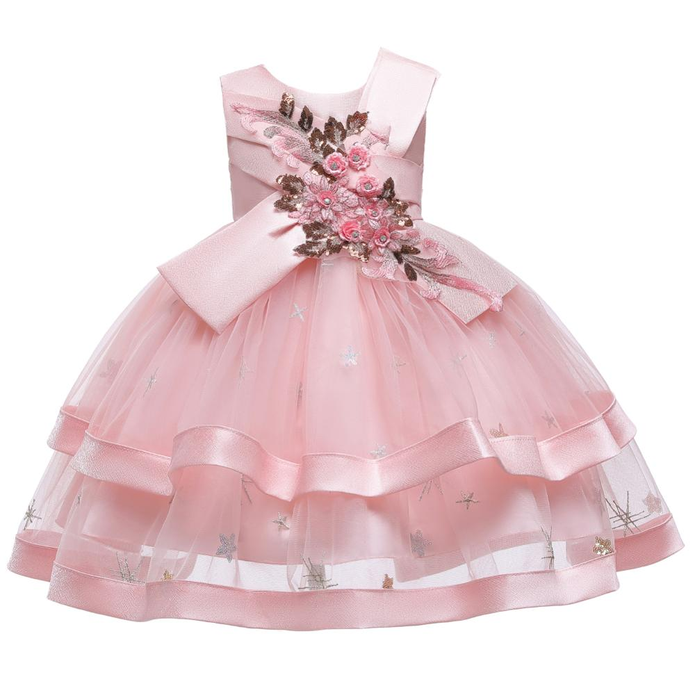 NEW <font><b>Girl</b></font> Summer cupcake <font><b>Dress</b></font> Kids Flowers <font><b>Girl</b></font> <font><b>Dress</b></font> <font><b>6</b></font> <font><b>7</b></font> 8 <font><b>Year</b></font> Princess <font><b>Birthday</b></font> Party <font><b>Dress</b></font> Children Clothing image