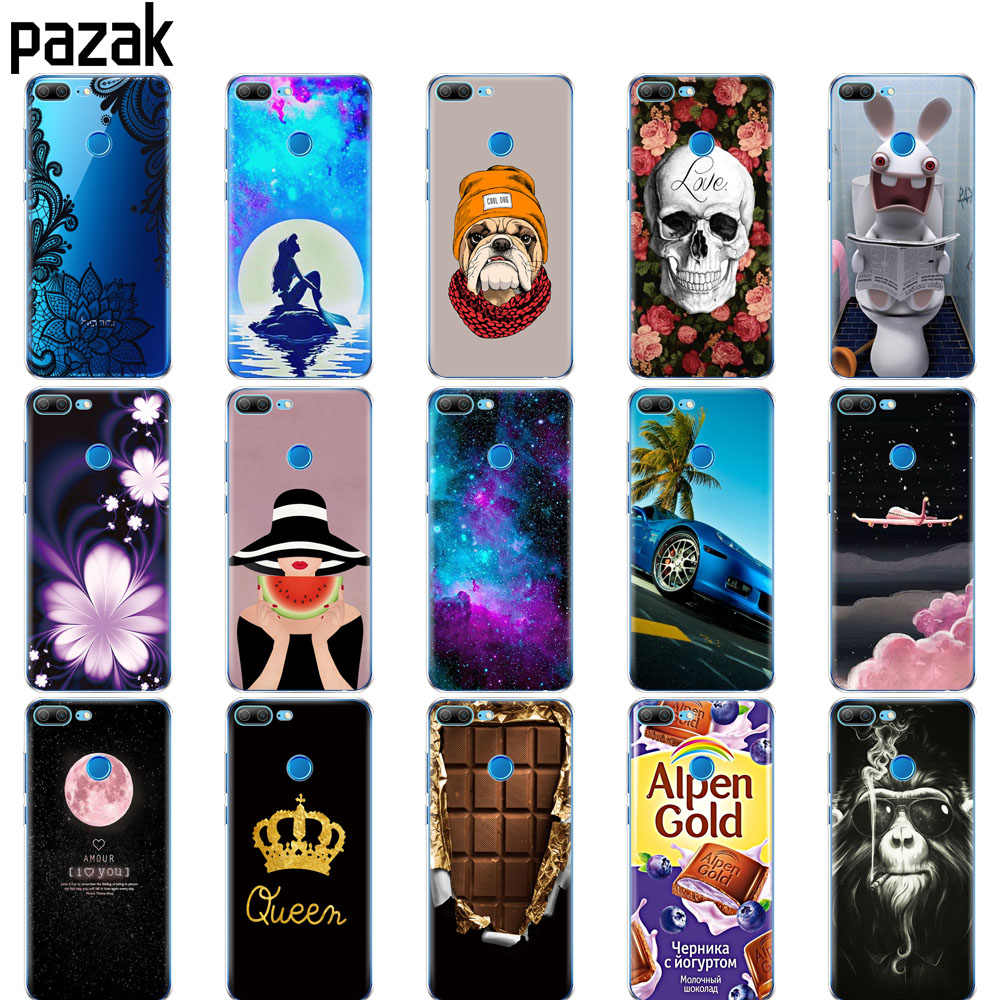 Silicone phone Case For huawei honor 9 honor 9 lite cases soft TPU Phone Back cover full 360 Protective shell new design