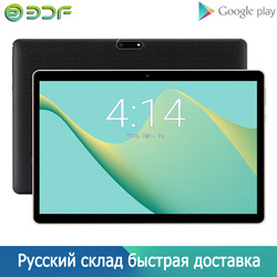 Nueva Tablet Pc de 10 pulgadas Android 7,0 mercado de Google WiFi Bluetooth GPS Android tabletas Quad Core Dual SIM tarjetas 3G teléfono tableta 10,1