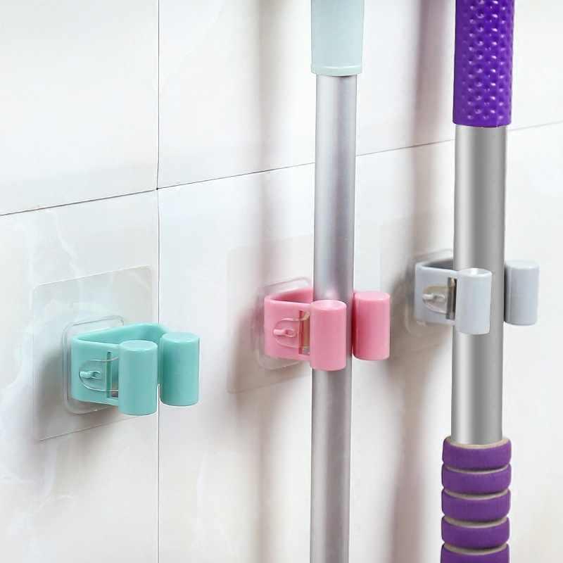 다기능 강한 흡입 벽 모양의 스탠드 브러시 랙 욕실 칫솔 홀더 펀치없는 욕실 선반 장식 선반