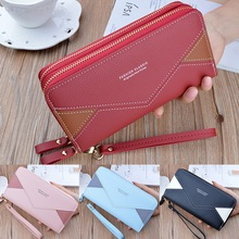 2020 Leather Women Wallet Zipper Long Wallets