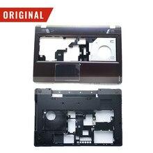 Novo original para lenovo y580 plamrest superior caso capa inferior base capa caso