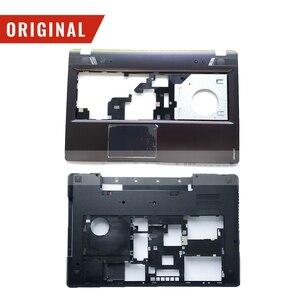 New Original for Lenovo Y580 Plamrest Upper Case cover Bottom Base Cover Case(China)