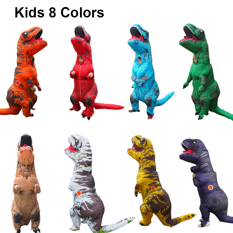 Dragon t rex Dino Rider Suit T-Rex Costume Purim Cosplay Christmas Adult Halloween Inflatable Dinosaur Costume For Women Men (2)