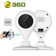360 d606 casa câmera 1080 p hd completo mini ip wifi gota de água câmera de segurança infravermelha sem fio ccd detecção de movimento 2 way áudio
