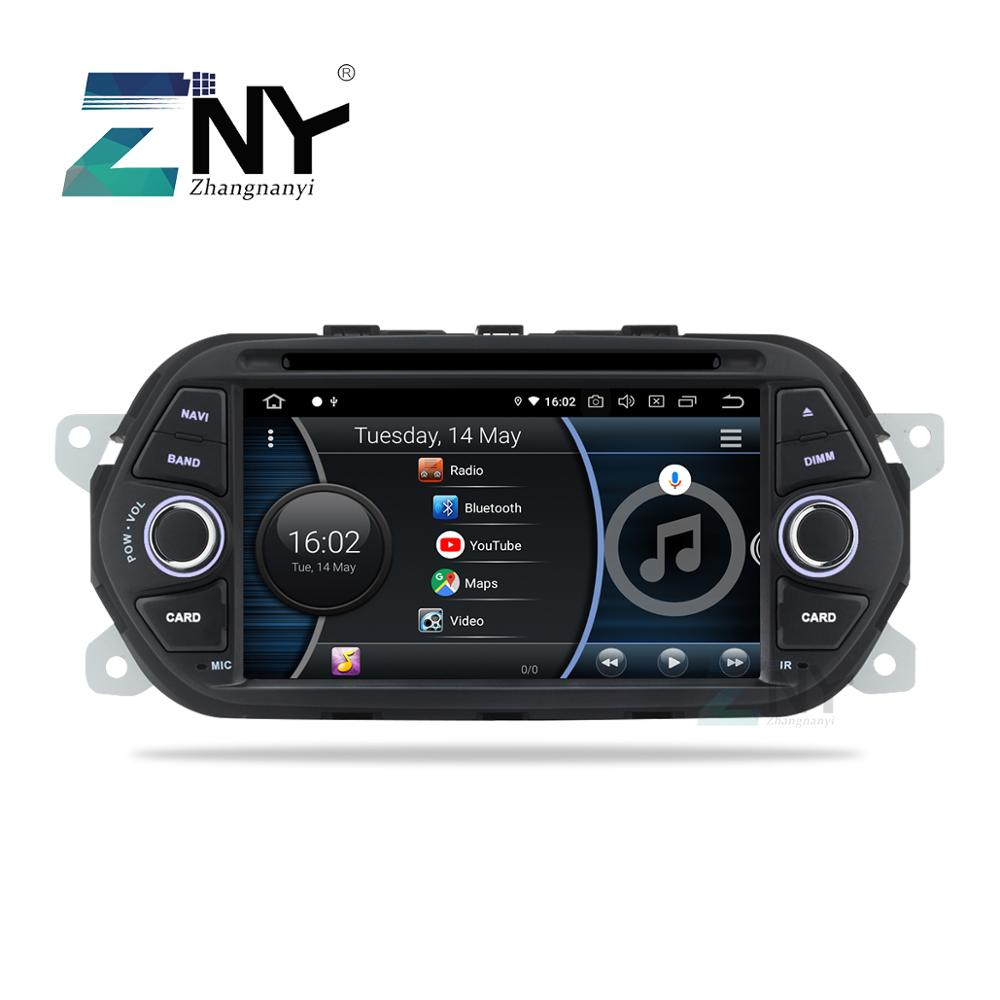 """7"""" Android 9.0 Car Stereo GPS For Fiat Tipo Egea Dodge Neon 2015 2016 2017 2018 Radio DVD WiFi Audio Video Navigation Rear Cam-in Car Multimedia Player from Automobiles & Motorcycles"""