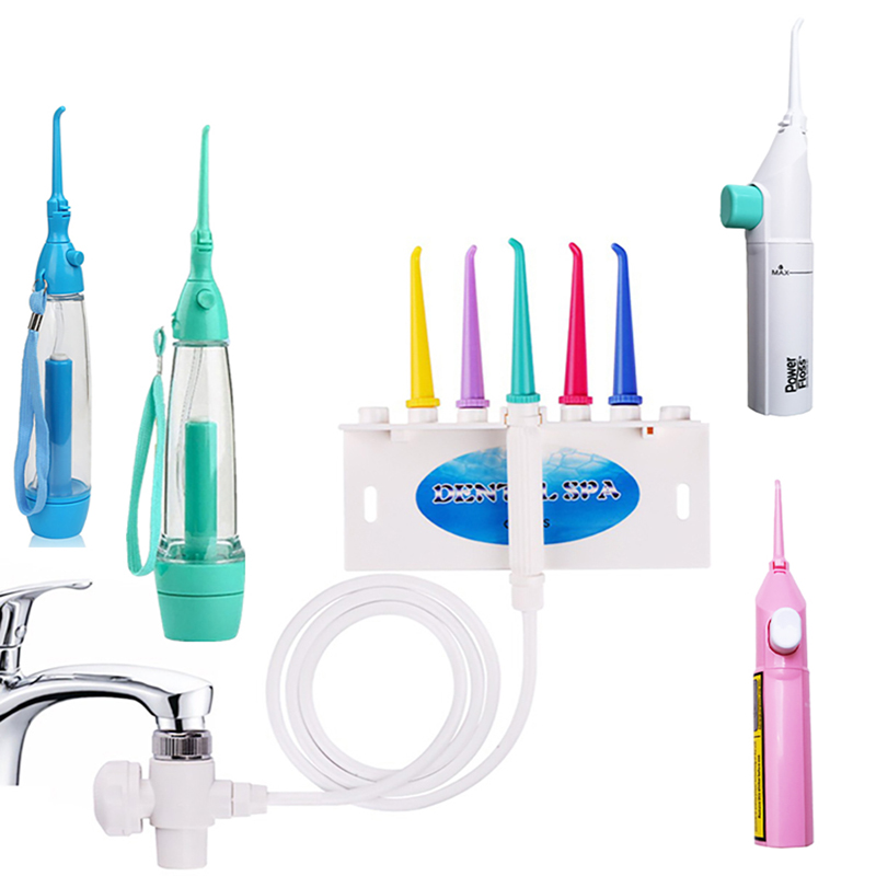 Twhite Dental 5 styles Oral Irrigator Water Flosser water pick jet tooth Deep Cleaning Tooth water Floss Faucet Oral Irrigation-in Oral Irrigators from Home Appliances