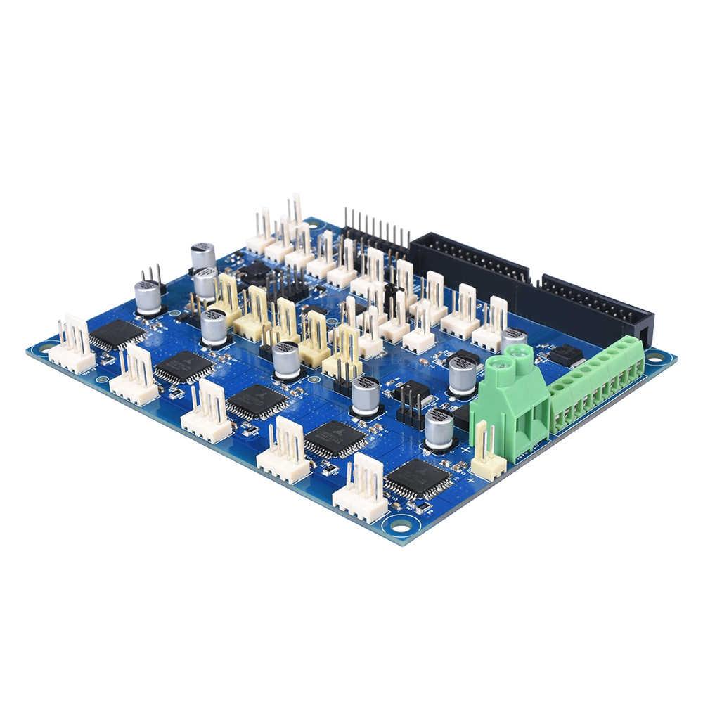 โคลน Duex5 คณะกรรมการการขยายตัว TMC2660 Controller สำหรับ PT100 Thermocouple 3D เมนบอร์ดเครื่องพิมพ์ CNC เครื่อง VS Duet 2 WIFI