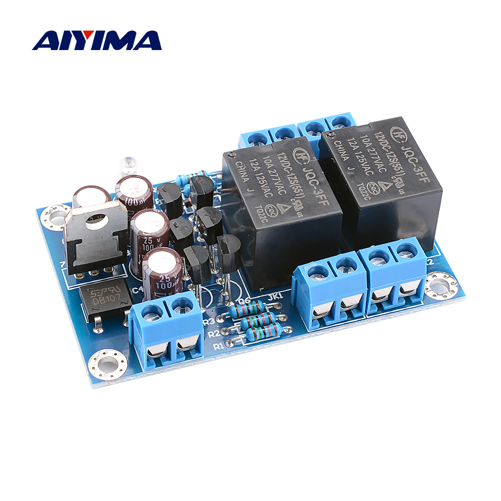 Speaker Protektion board Komponente  Verstärker mit DC Protektion Boot Delay