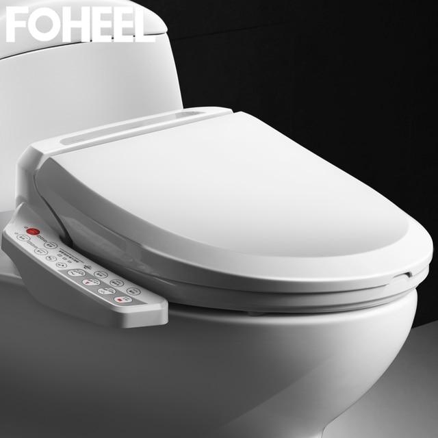 FOHEEL 스마트 변기 지능형 비데 히트 시트 드라이 에어 전기 비데 화장실 커버