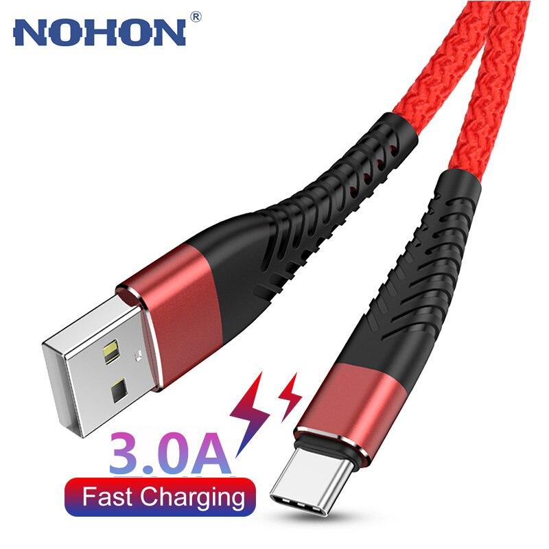 1M 2M типа c для зарядки и переноса данный провод кабель для быстрой зарядки для Samsung S9 S20 плюс Huawei XiaoMi происхождения Тип c быстрой шнур Мобильны...