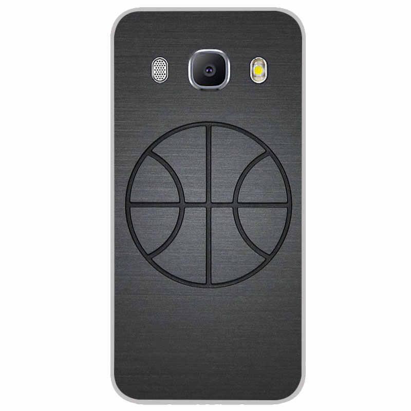 Me encanta el baloncesto mate fundas de silicona para Samsung galaxy J2 J4 Core J6 más J7 primer dúo Max TPU caja del teléfono funda trasera de silicona