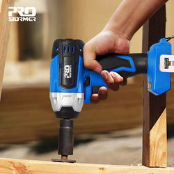 Burshless Impact Wrench Cordless 300NM Max Torque Socket Wrench 20V Without 4000mAh Lithium-Ion Battery Power Tool By PROSTORMER