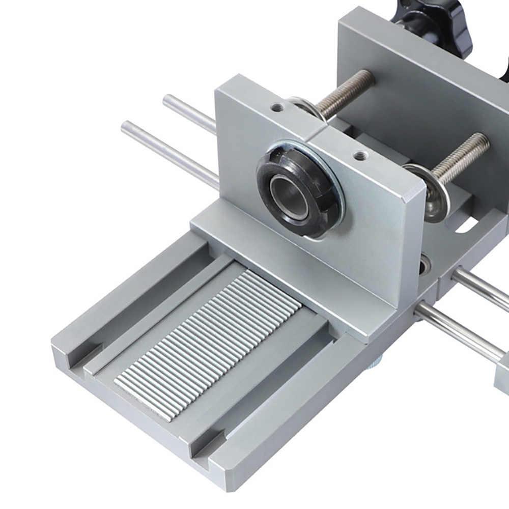 Gabarit 3 en 1 6/8/10mm Guide de perçage du bois Kit de gabarit réglable pour outil de travail du bois bricolage