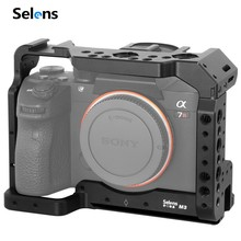 Клетка Selens a7iii a7r3 a7m3 для Sony A7RIII /A7III/A7MIII клетка из алюминиевого сплава для крепления штатива комплект быстрого крепления 2087