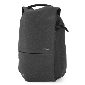 Fashion Men's Business Backpack Large Capacity Waterproof Male Laptop Backpack Casual Travel USB Charging Student Bag for Teens