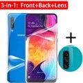3in1 на A51 A52 4G 5G экран сзади гидрогель пленка для экрана протектор объектива камеры для Samsung Galaxy A50 A50s 50 s 50 s защитный без стекла