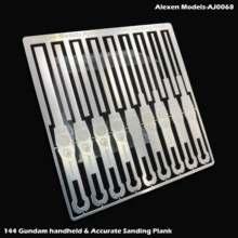 Aj0068 gundam hg pode ser mão-realizada dupla-finalidade pequena gama de polimento com placa de polimento criativo
