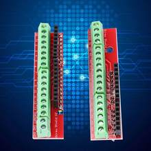 2 pcs Screw Shield V2 Stud Terminal Expansion Board Retain Expansion Board Socket micro usb connector for arduino R3(China)